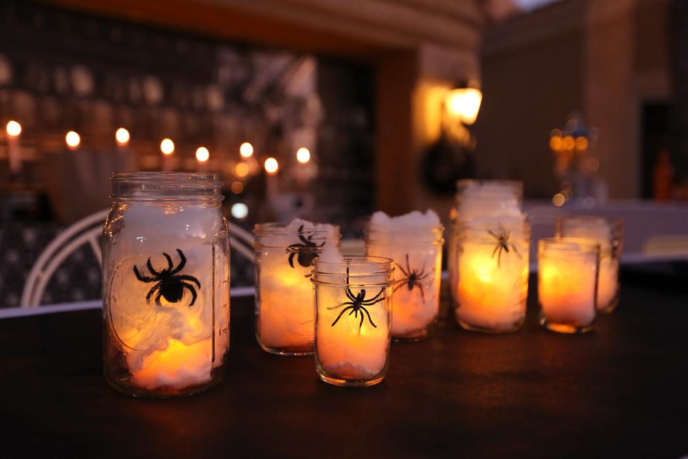 Crafty Glass Jar And Bottle Halloween Ideas